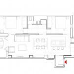 Una reforma de un apartamento en el barrio de Gracia de Barcelona