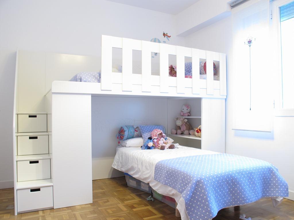 Reforma de piso en chamart n - Habitacion para 2 ninos ...