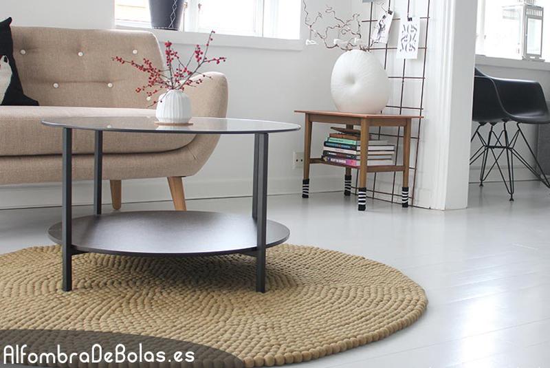 C mo decorar con alfombras for Alfombras de salon